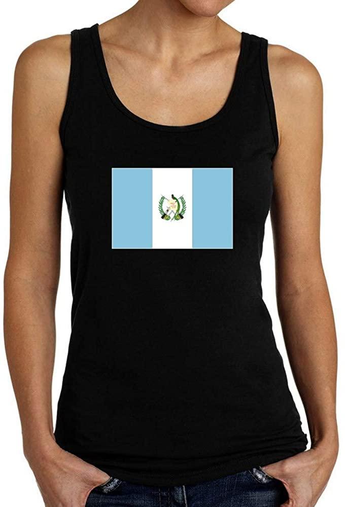 Teeburon Guatemala Flag Rectangular Women Tank Top