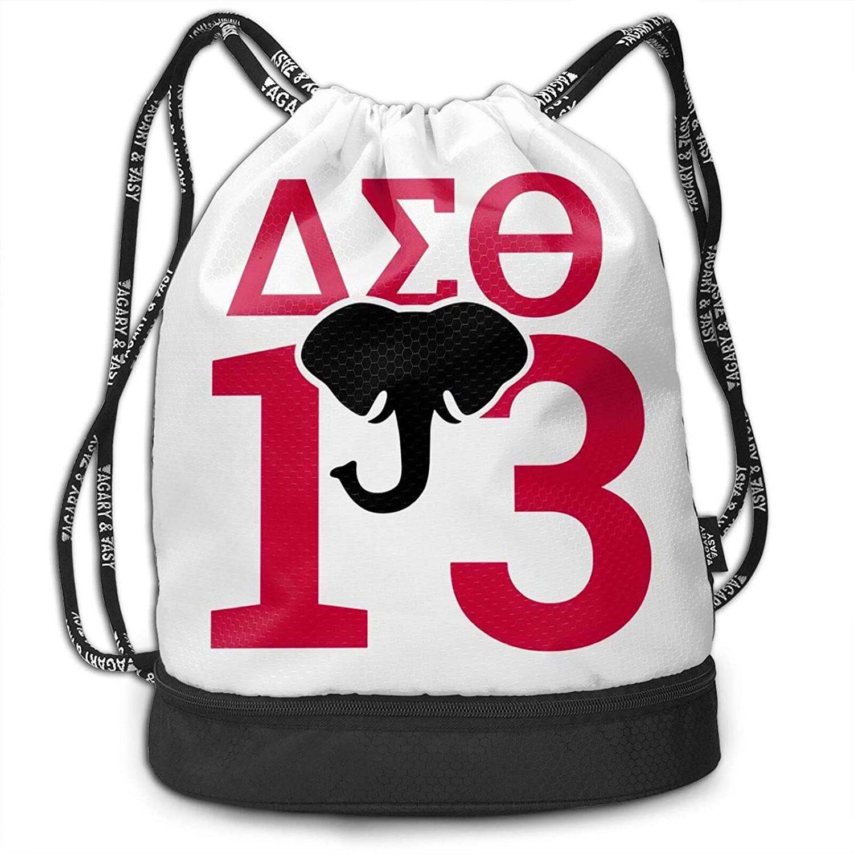 Fashion Boutique Delta Sigma Theta Unisex Bundled Backpack Leisure Backpack