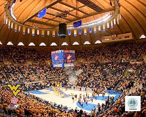 WVU Coliseum West Virginia Mountaineers 2008 Stadium Photo (Size: 8