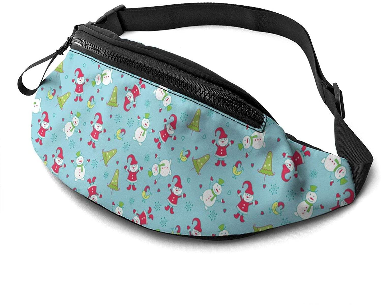 Elk Funny Reindeer Funny Fanny Pack Fashion Waist Bag