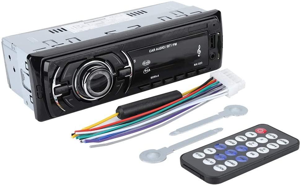 Socobeta Bluetooth Car Stereo Digital Media Receiver with Remote Control