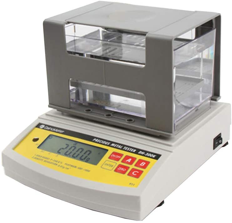 MXBAOHENG Digital Electronic Gold Purity Tester Gold Densimeter Gold Purity Tester Metal Analyzer Karat Detector (DH-900K)