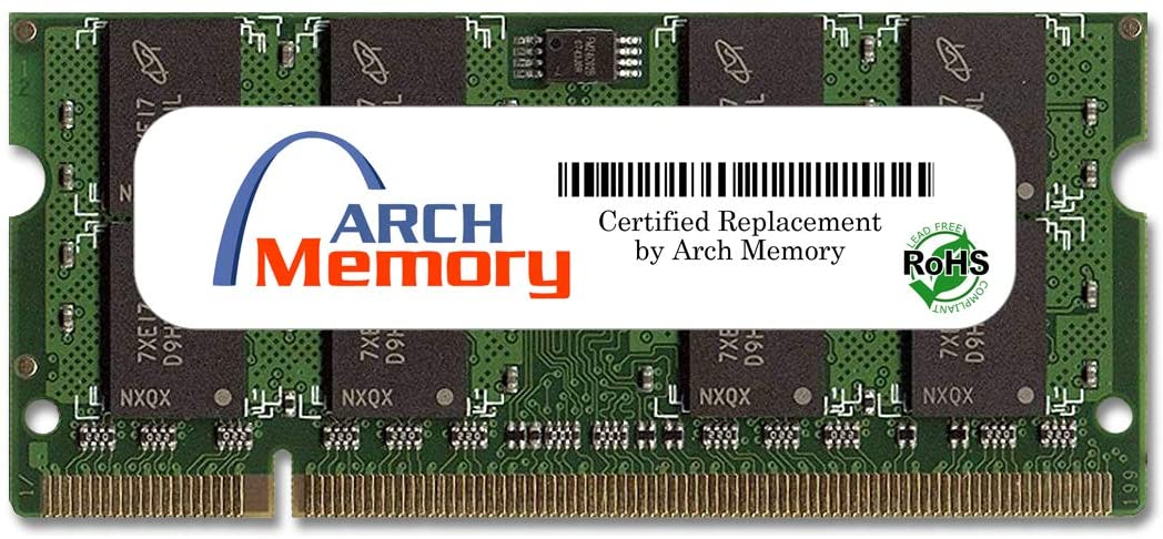 Arch Memory 2 GB 200-Pin DDR2 So-dimm RAM for Lenovo ThinkPad T60 2007, 2008, 2009 Series