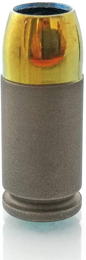 CooB Solid Titanium Paracord Bead Beads Charm Pendant Hair Beard - EDC Titanium Oxidized Beads for Paracord Bracelet, Lanyard, Charm Zipper Pull, Hair Beard Dreadlock (1pcs/Lot)