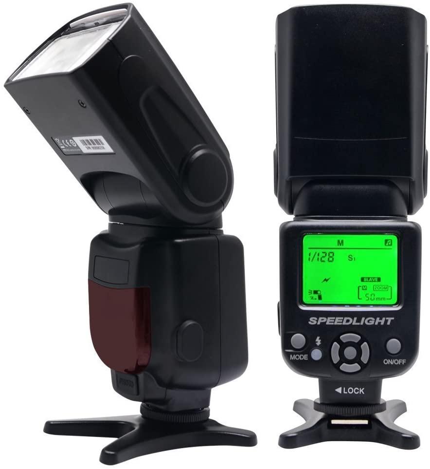 Venidice VD650 TTL Flash Speedlite Auto-Focus Flash for Canon 80D 70D 60D 50D 6D 5D 5DS and Other DSLR Cameras