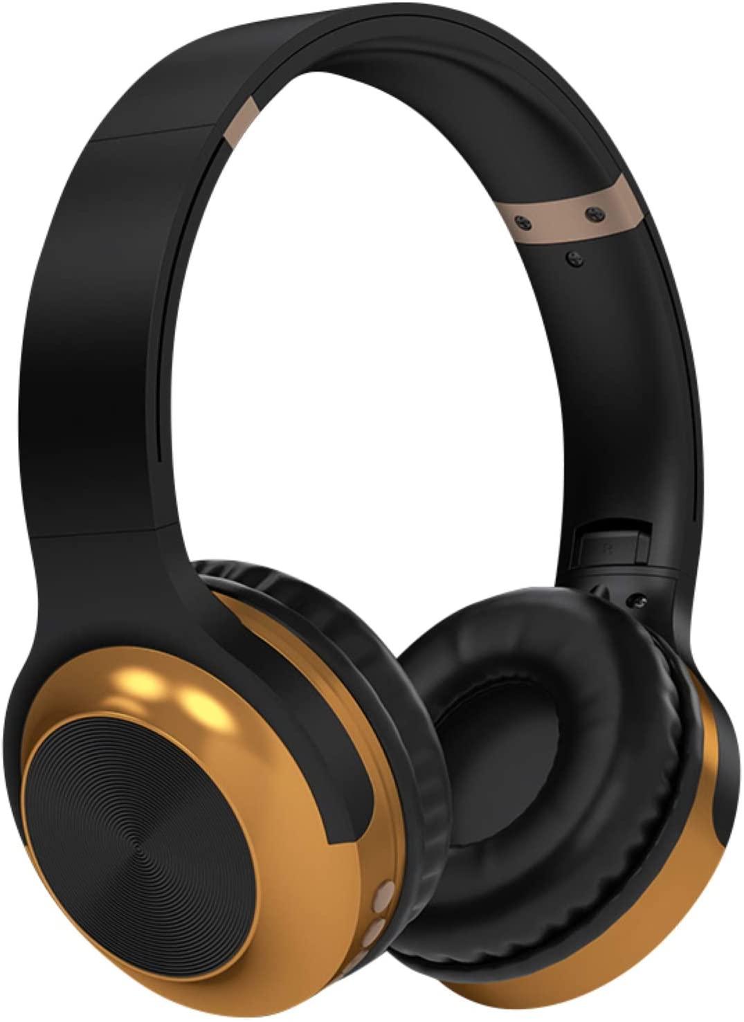 MOHALIKO Bluetooth Headphones, Wireless Headphones, A10 Head-Mounted Bluetooth Headset Stereo Wireless Card Radio Universal Earphone for School Home or Travel Black
