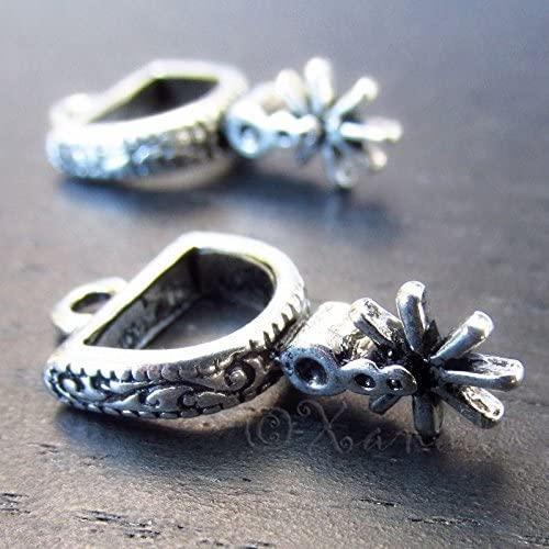 Charm - Jewelry - Pendant - Cowboy Boot Spurs 5 pcs
