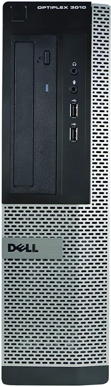 Dell 3010 Desktop, Core i5-3570 3.4GHz, 8GB RAM, 2TB Hard Drive, DVDRW, Windows 10 Pro 64bit (Renewed)