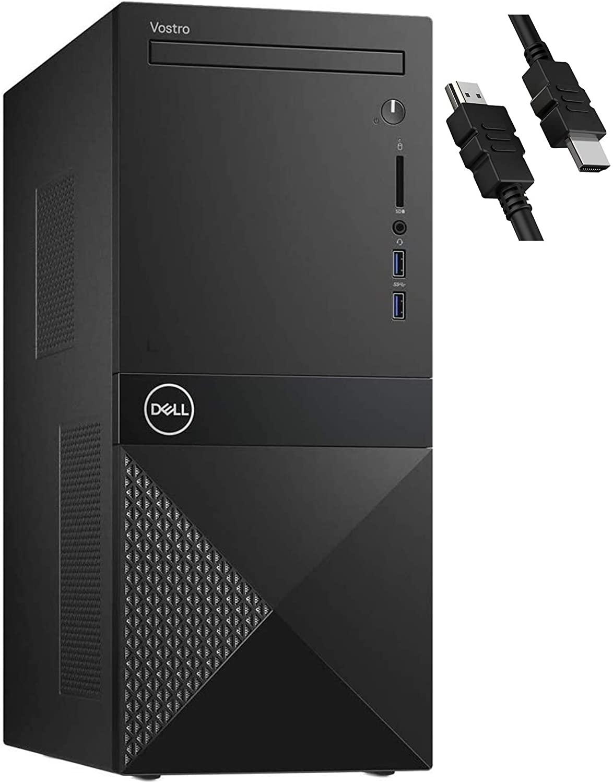 2020 Flagship Dell Vostro 3000 3671 Business Desktop Computer 9th Gen Intel Hexa-core i5-9400 (Beat i7-7700) 32GB RAM 1TB SSD + 2TB HDD DVD-RW WiFi Bluetooth USB3.0 Windows 10 Pro + iCarp HDMI Cable