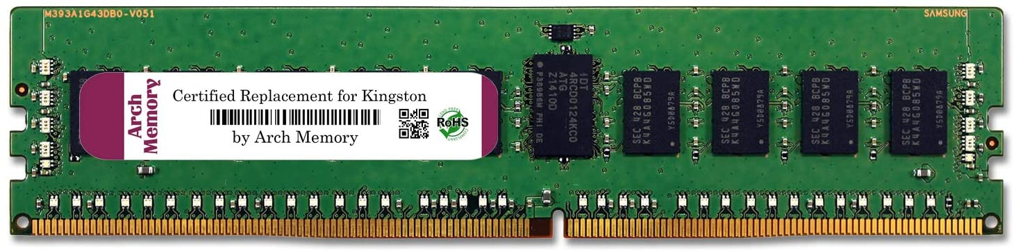 Arch Memory Replacement for Kingston KSM24RS4/16MAI 16 GB 288-Pin DDR4 2400 MHz ECC RDIMM Server RAM