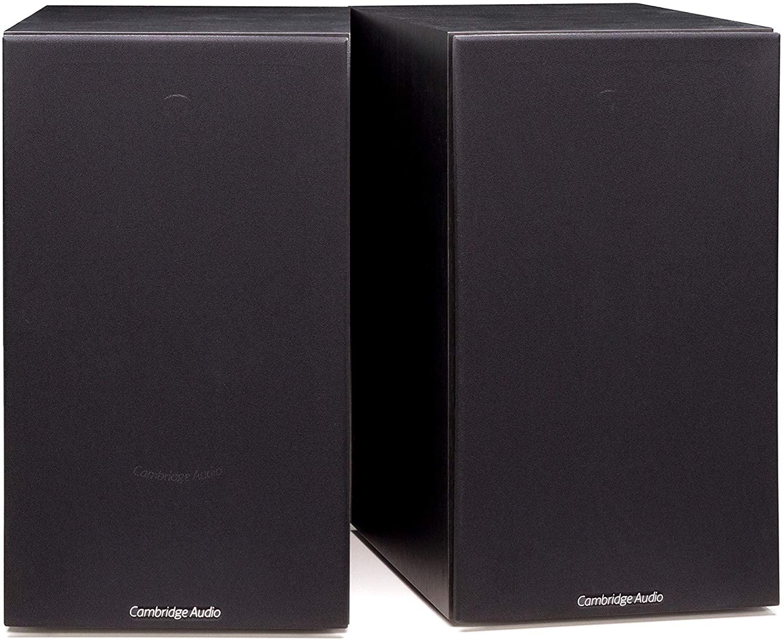 New Cambridge Audio SX-60 Bookshelf Speaker   100 Watt Home Theater Compact Speakers   Pair (Black)