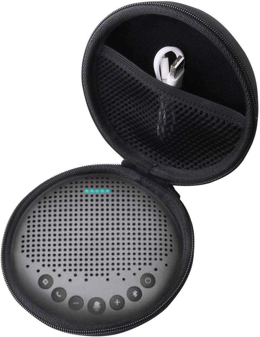 WERJIA Hard Carrying Case for eMeet Luna/M2/M1 Conference Speaker Phone
