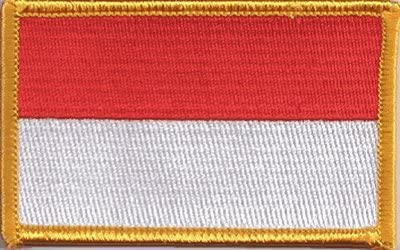 Indonesia Iron-on Embroidered Patch