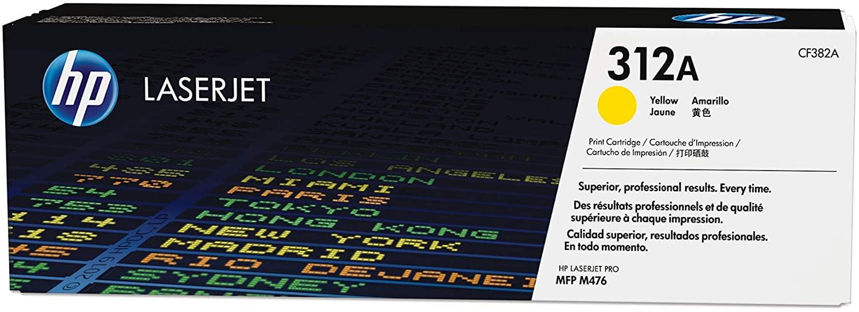 HP 312A | CF382A | Toner Cartridge | Yellow