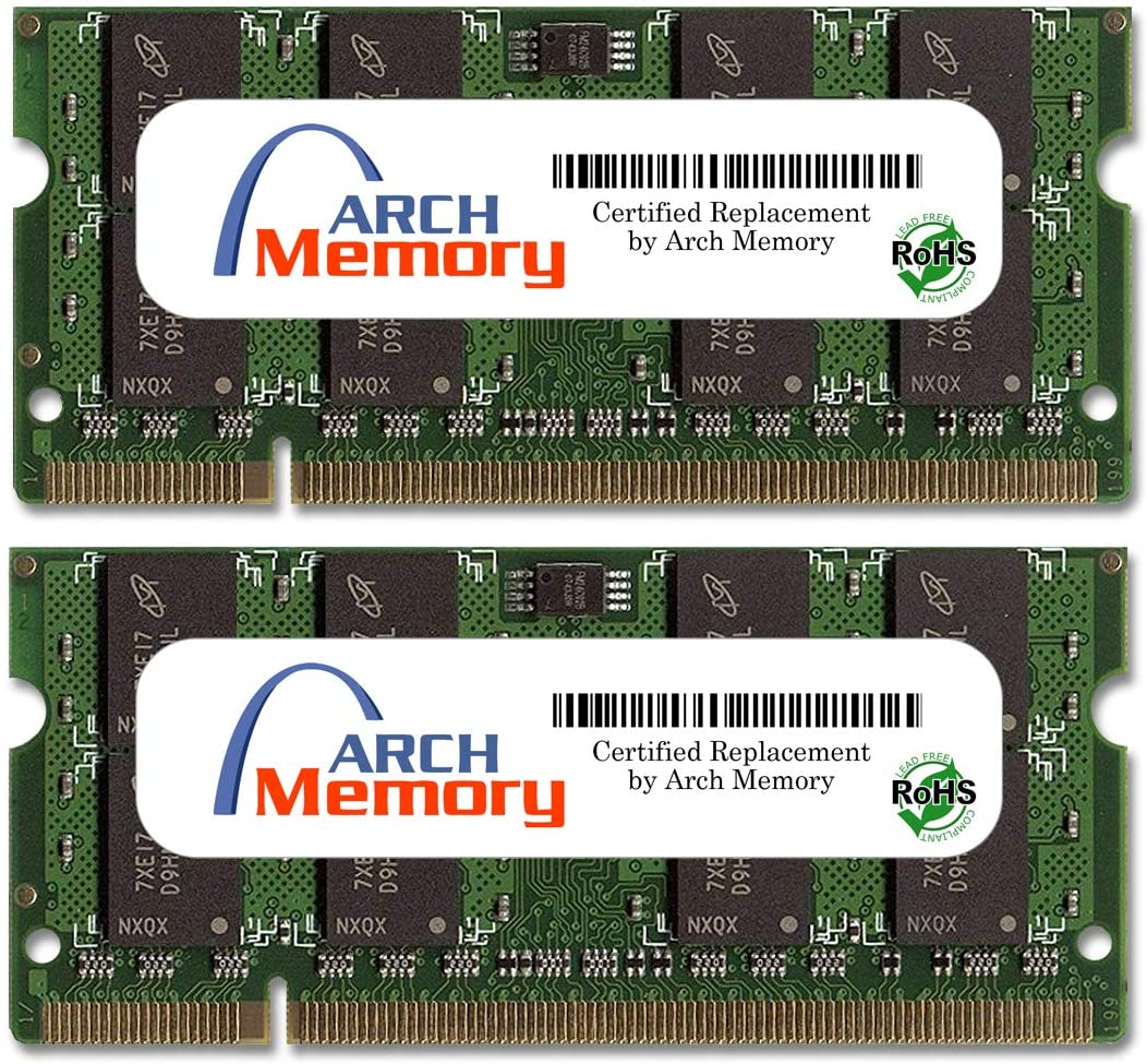 Arch Memory 4 GB (2 x 2 GB) 200-Pin DDR2 So-dimm RAM for ASUS EeeBox PC EB1012P-B022E