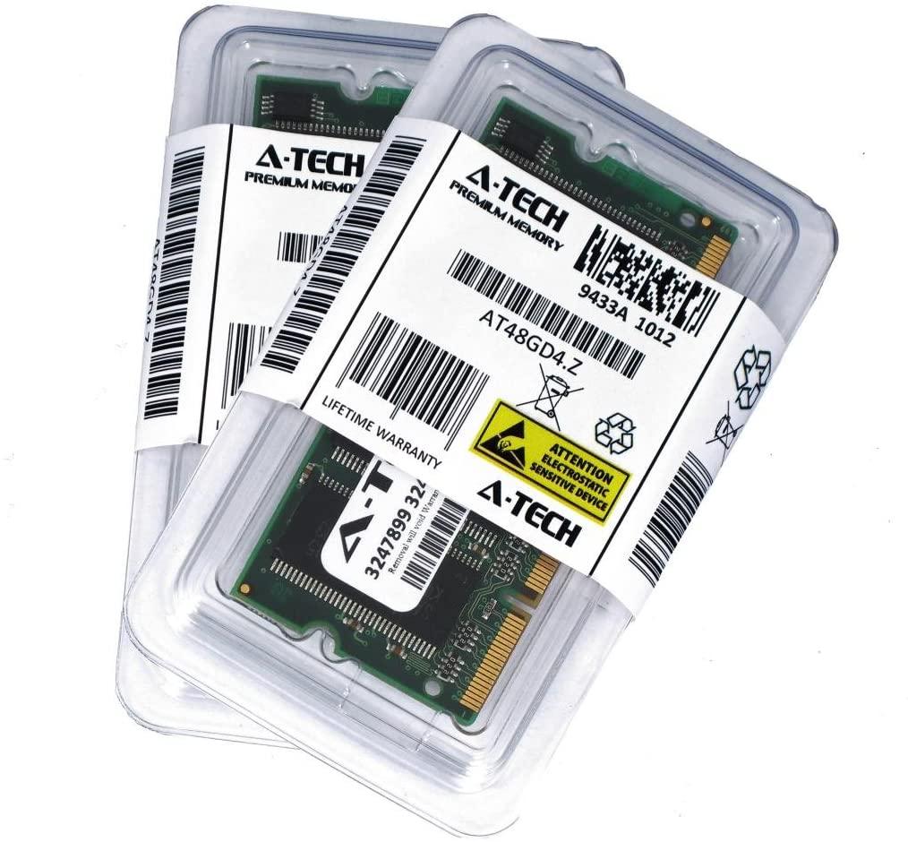 A-Tech 2GB Kit (1GB x 2) DDR PC3200 Laptop Memory Module (200-pin SODIMM, 400MHz) Genuine Brand