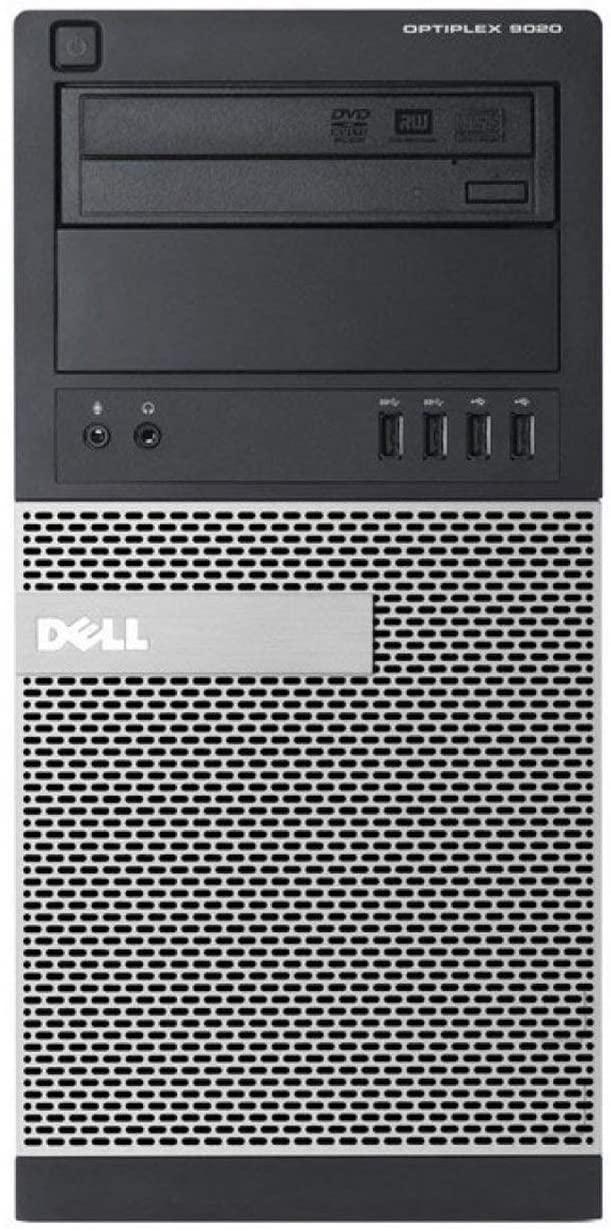 Dell Optiplex 9020 Mini Tower Desktop PC, Intel Core i5-4570-3.2 GHz, 16GB Ram, 256GB SSD+2TB SATA WiFi, DVD-RW, Windows 10 Pro (Renewed)