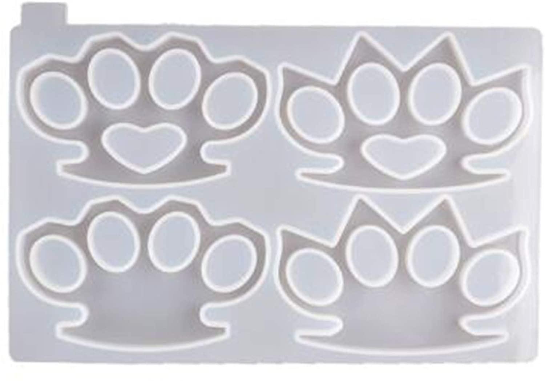 DIIIBARLORY Silicone Mold Reusable DIY Epoxy Resin Finger Tiger Silicone Ring Cover Mirror Silicone Mold