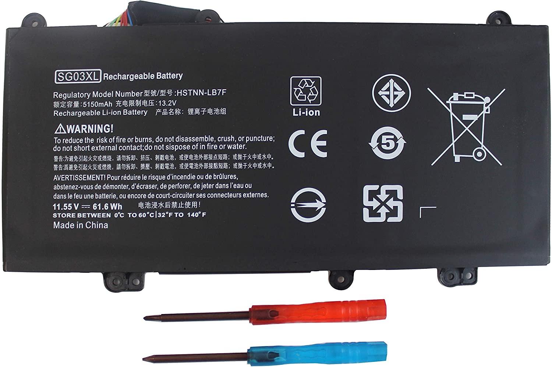 849048-421 SG03XL SG03061XL Battery for HP Envy M7 17t-u100 CTO Series M7-u109dx M7-u009dx 17-u273cl 17-u275cl 17-u292cl 17-u163cl 849315-856 w2k88ua#aba w2k86ua w2k89ua w2k91ua w2k87ua v9e98av