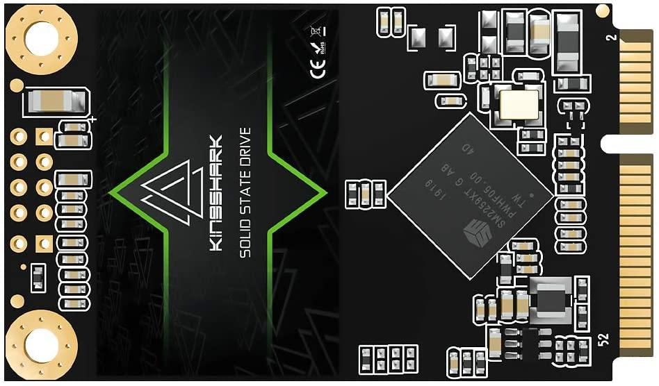Kingshark mSATA 480GB Internal Solid State Drive High Performance Hard Drive for Desktop Laptop SATA III 6Gb/s Includes SSD (480GB, Msata)