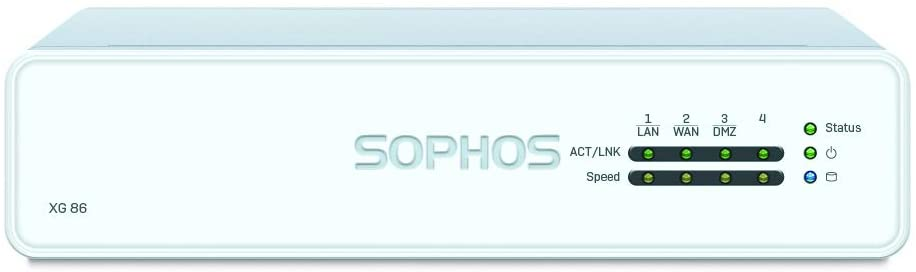 Sophos XG 86 TotalProtect Plus 3 YR Bundle VPN Firewall Appliance and FullGuard Plus License 3 Year