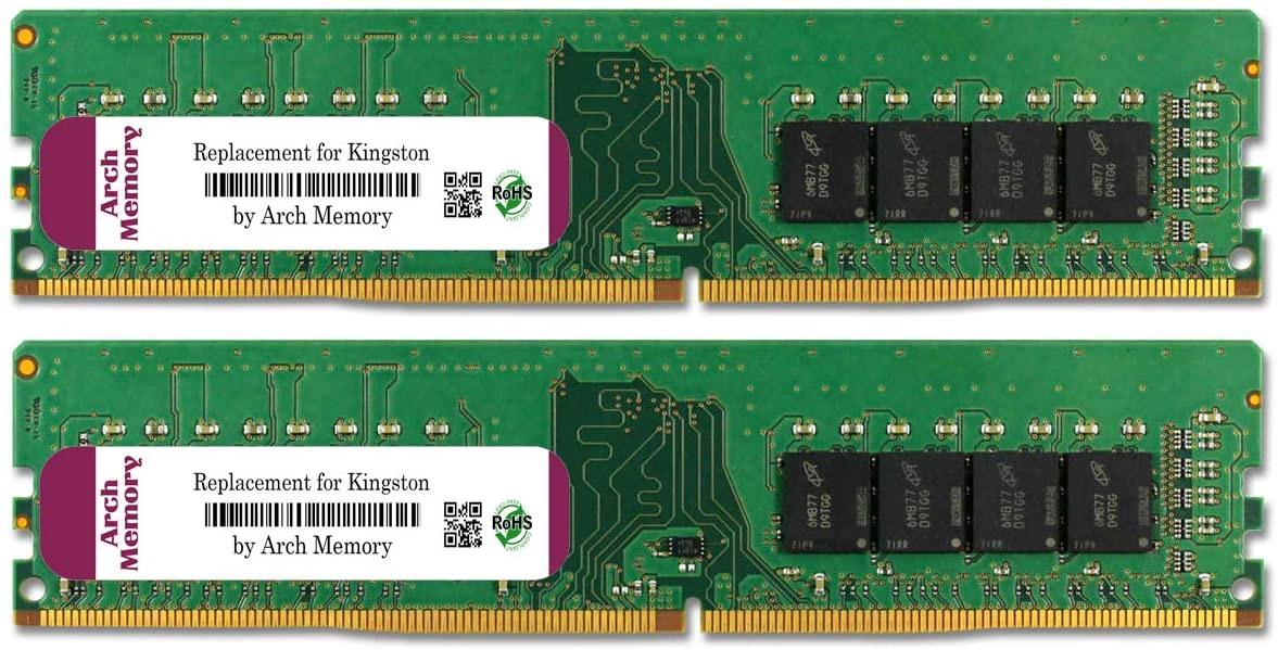 Arch Memory 8 GB (2 x 4 GB) 288-Pin DDR4 Udimm RAM Replacement for KVR24N17S8K2/8