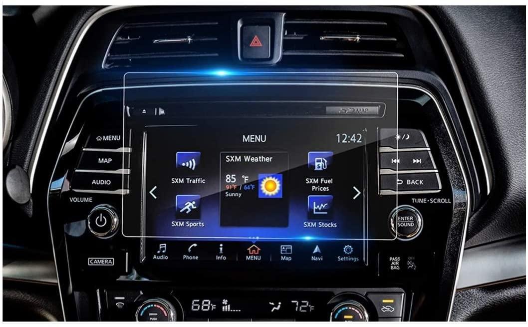 Maodou Tempered Glass Screen Protector Compatible with 2019 2020 Nissan Murano 8 Inch Screen,Anti Scratch, HD Clear,Bubble Free,Premium Murano Accessories