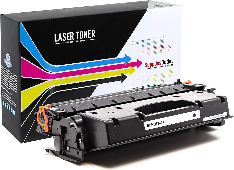 USA Advantage Compatible Toner Cartridge Replacement for HP 49X / Q5949X (Black,1 Pack)