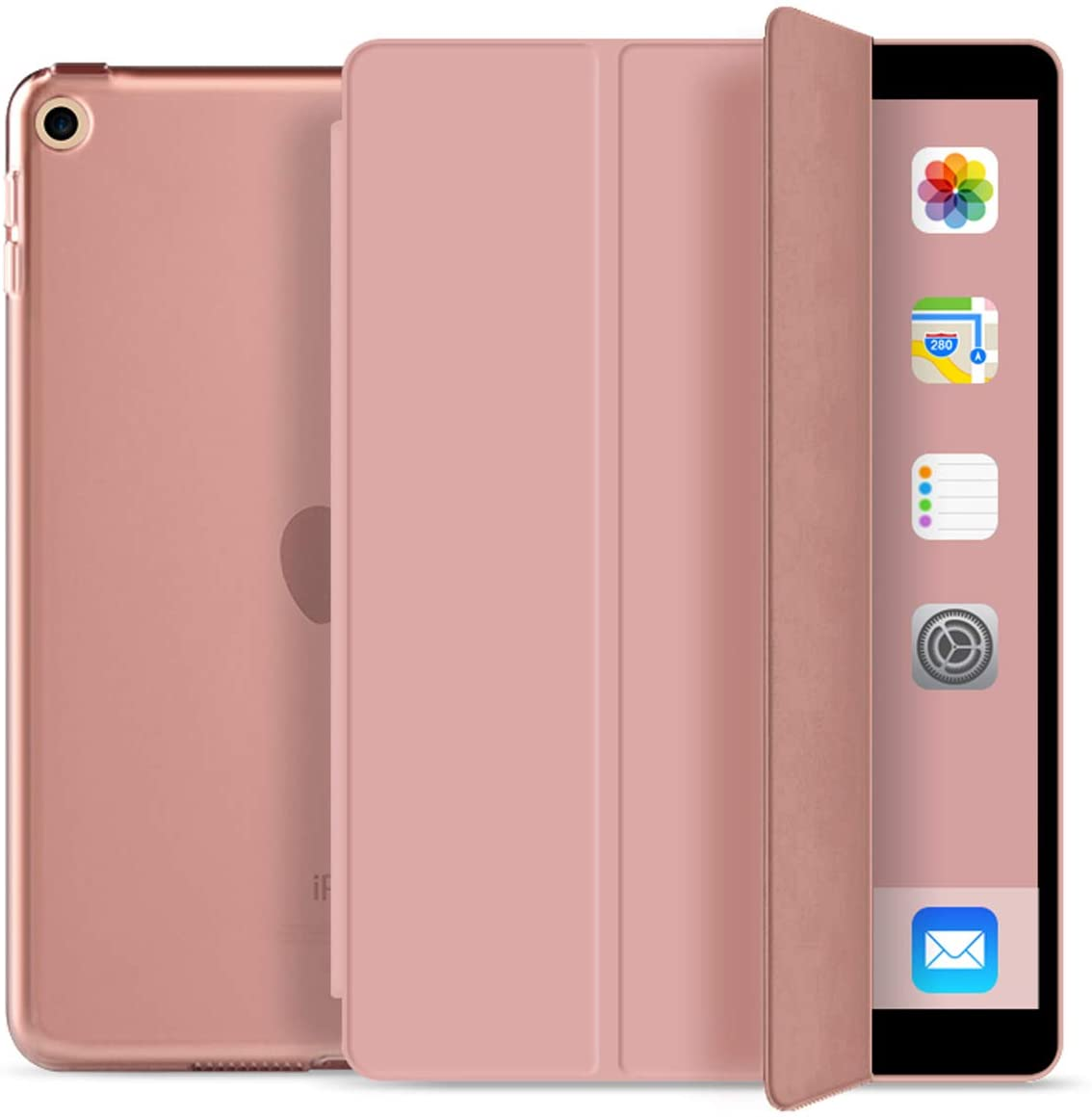 Kenke Case for iPad 9.7 Inch 2018/2017,Smart Cover with Magnetic Auto Sleep/Wake for ipad 5th/6th Generation (Rose Gold)