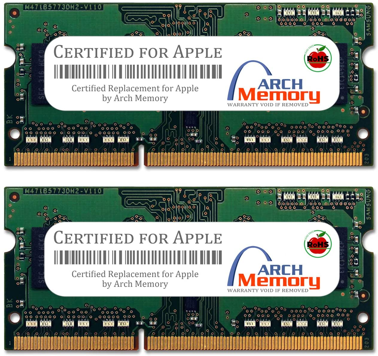 Arch Memory Replacement for Apple 8 GB (2 x 4 GB) 204-Pin DDR3 SodimM RAM for MacBook Pro 13-inch Intel Core i7 2.9 GHz MD102LL/A