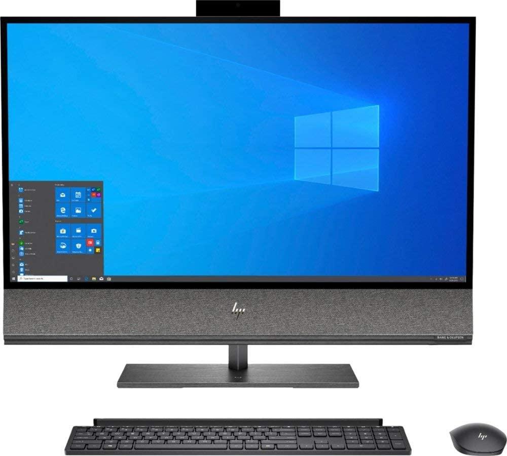 HP Envy 32 Desktop 8TB SSD 64GB RAM Extreme (Intel Core i7-9700K Processor 3.60Ghz Turbo Boost to 4.90GHz, 64 GB RAM, 8 TB SSD, 32 4K UHD (3840 x 2160), Win 10) PC Computer All-in-One