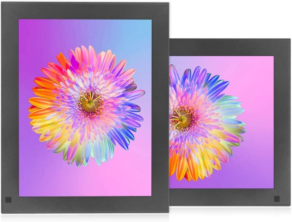 BSIMB 10 Inch 16GB WiFi Digital Photo Frame 2K Digital Picture Frame 2048×1536(4:3) IPS Retina Touch Screen Motion Sensor Auto-Rotate Send Photos/Videos Via Cloud APP,Facebook,Twitter,Email BX1-1