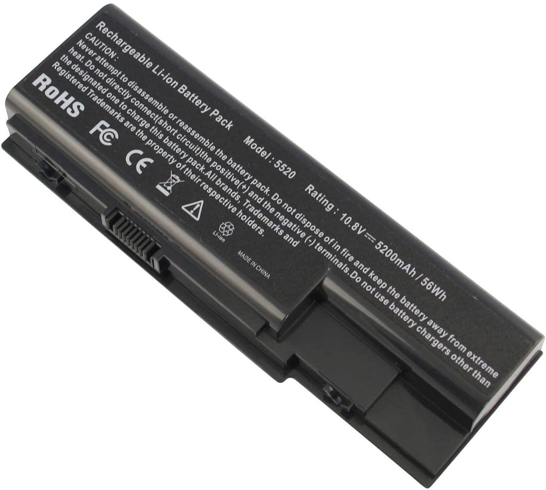 New 6 Cell 5200mah Laptop Battery for Gateway NV73 NV74 NV78 5920G NV79