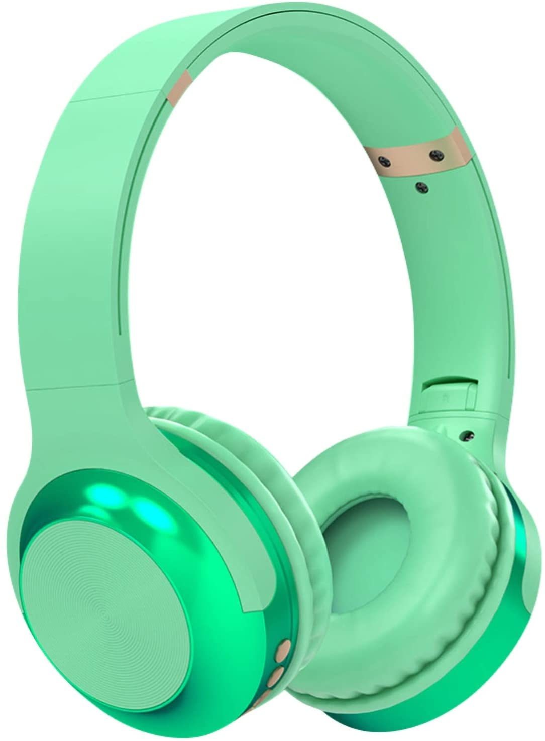 MOHALIKO Bluetooth Headphones, Wireless Headphones, A10 Head-Mounted Bluetooth Headset Stereo Wireless Card Radio Universal Earphone for School Home or Travel Green