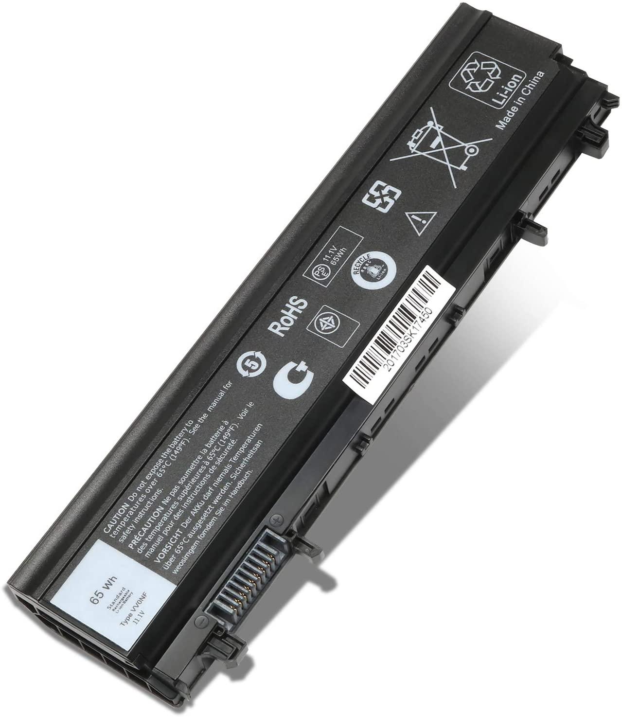 UlvenchVV0NF Laptop Battery for Dell E5540 E5440 Series, fits VV0NF 0K8HC 1N9C0 CXF66 WGCW6 0M7T5F F49WX NVWGM