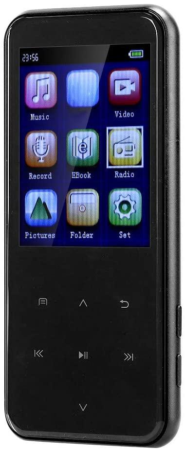 AMONIDA Multi‑Function Music Player MP3 Portable Player MP4 Media FM Radio Recorder HiFi Music Speakers (16GB)