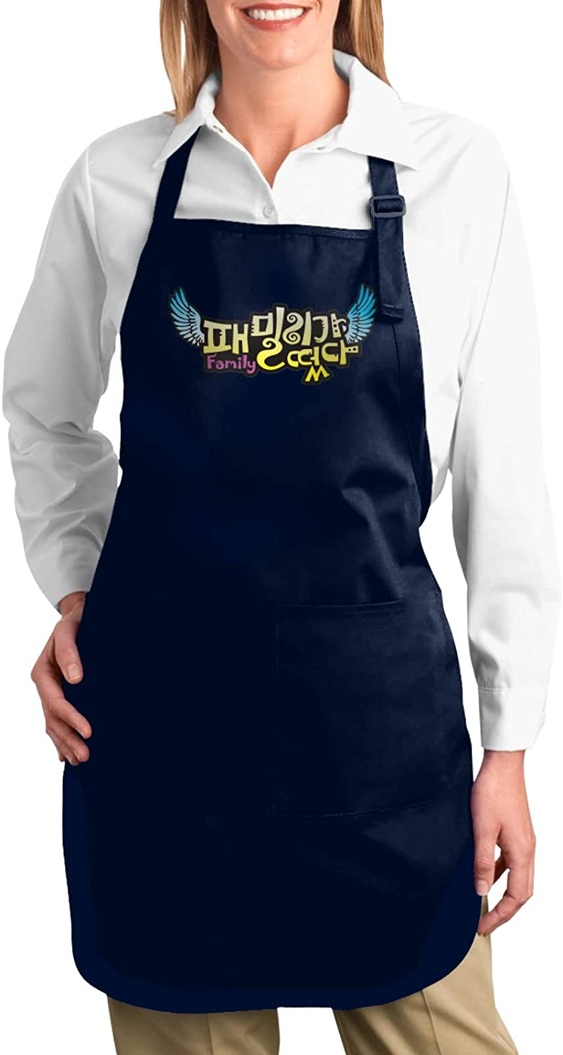 The Partridge Family Bib Apron Resistant with 2 Pockets Cooking Kitchen Apron for Women, Men Chef, BBQ Drawing Apron Bulk