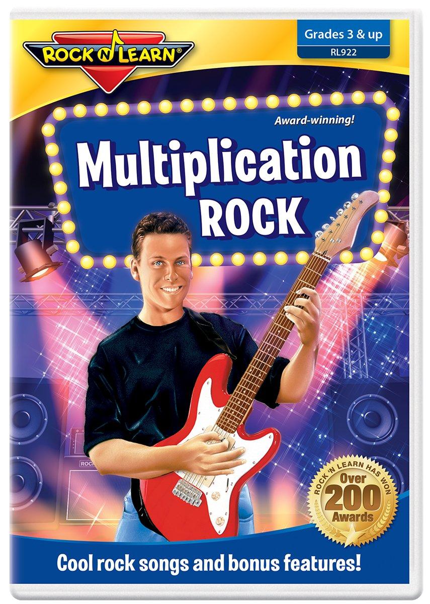 Multiplication Rock DVD by Rock N Learn