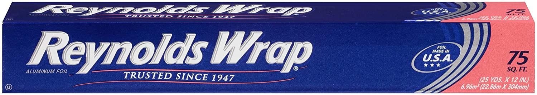 Reynolds Wrap Standard Aluminum Foil - 75 Square Feet