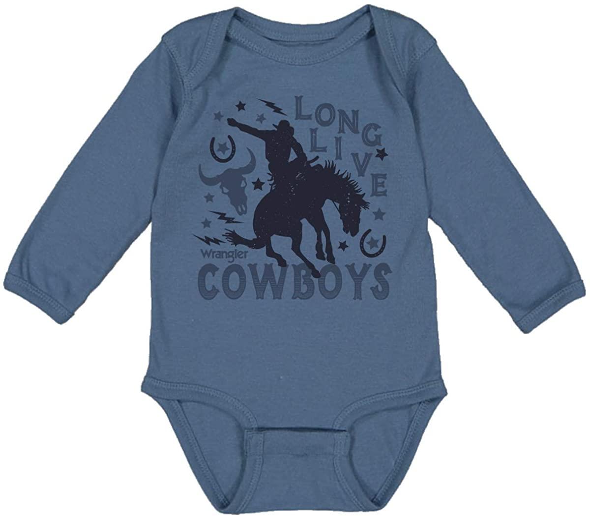Wrangler Baby Live Cowboys Ls Bodysuit