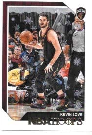 Kevin Love 2018-19 NBA Hoops Winter Cleveland Cavaliers Card #102