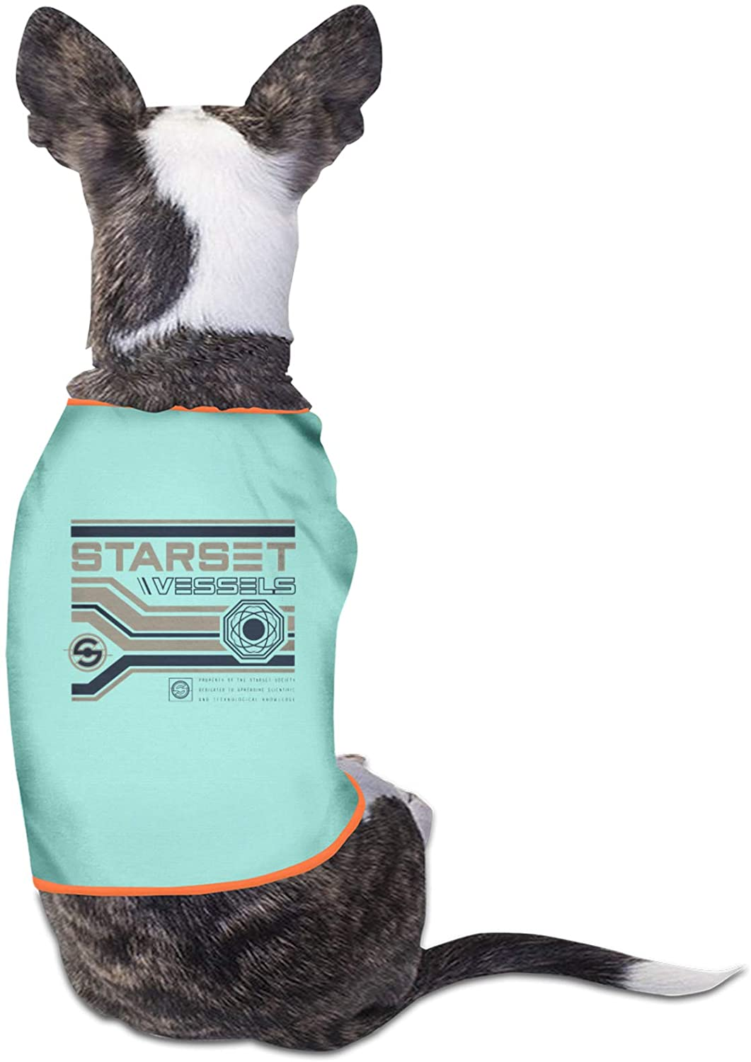 Opplsh Hdrejn Starset Rock Pet Apparel Dog for Puppy, Small, Medium and Large Dogssky Blue