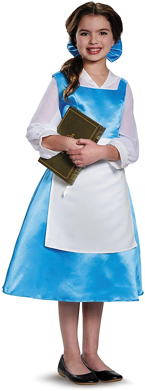 Disney Princess Belle Beauty & the Beast Blue Dress Costume
