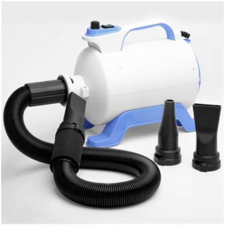 WUZHOUAME Pet Water Blowing Machine 1800W Infinitely Variable Speed Dog Hair Dryer pet Hair Blower Cat air Blower