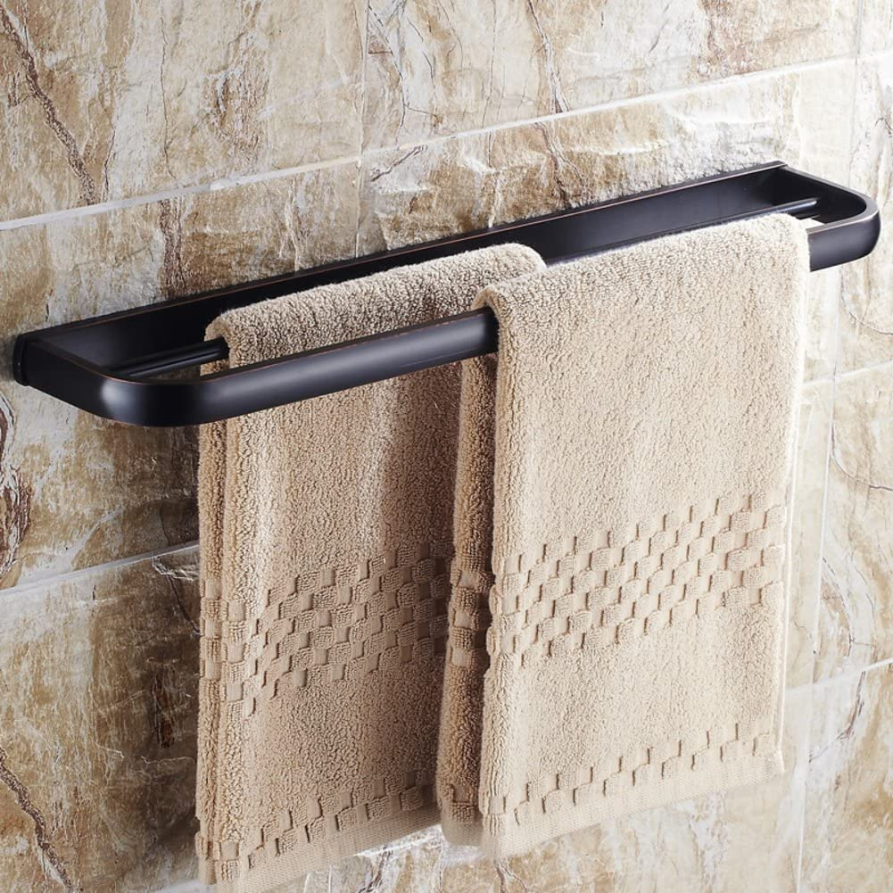 YHBGVCF Antique Double Towel Hanging/Bathroom Accessories/Copper Bathroom Towel bar Extension