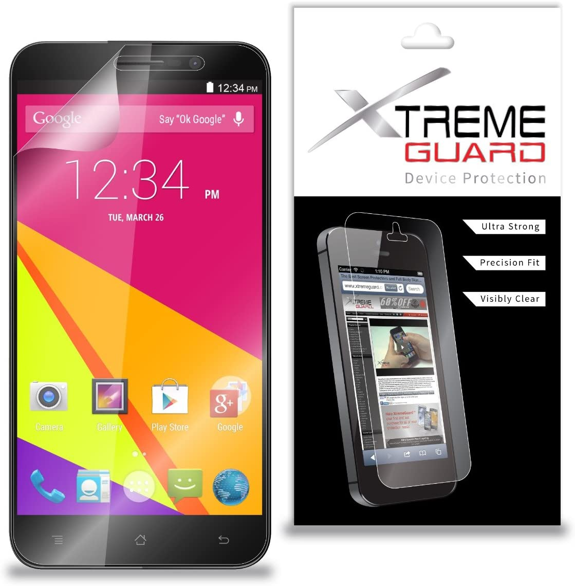 XtremeGuard Screen Protector for BLU Studio 6.0 LTE Y650Q (Ultra Clear)