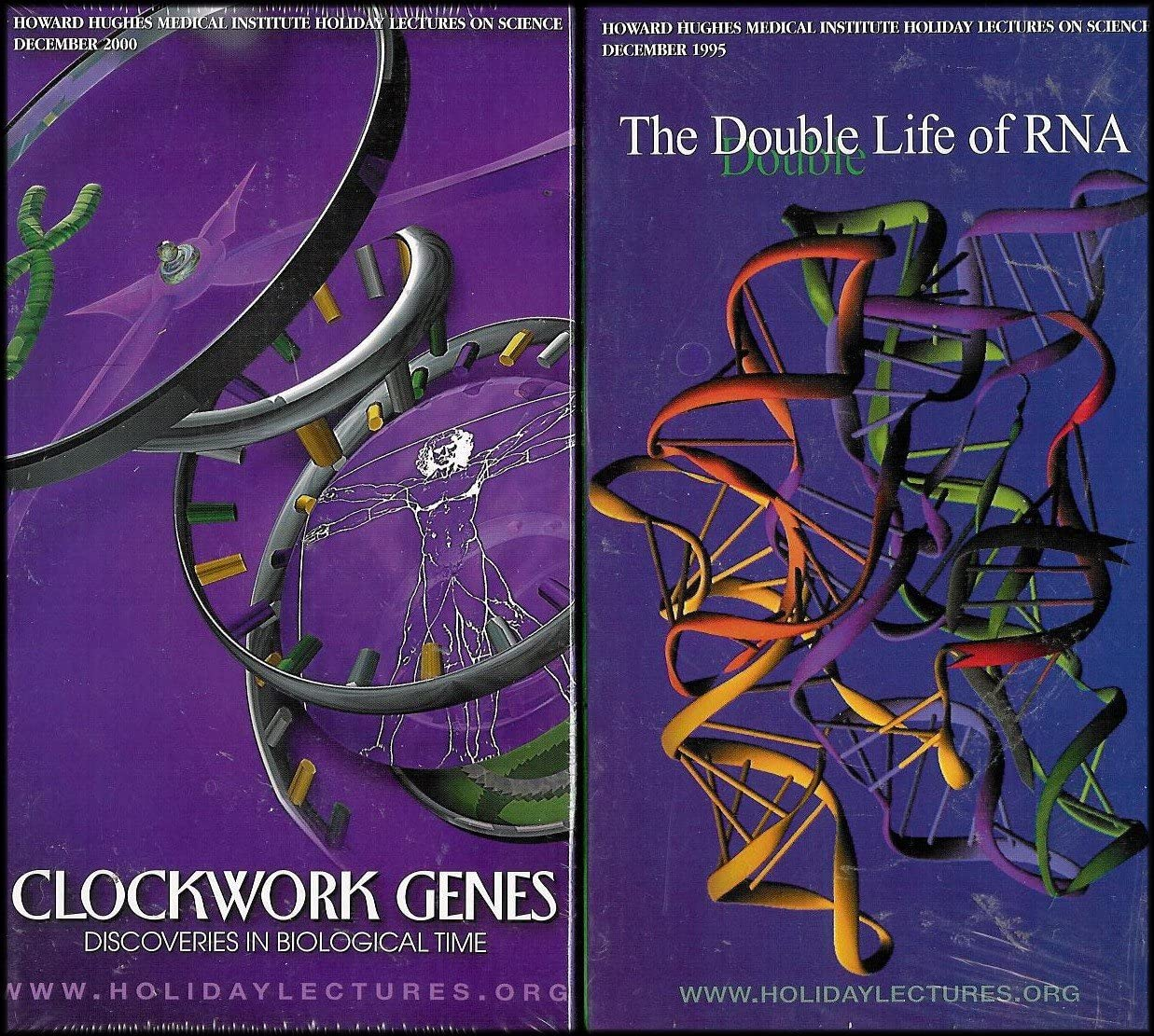 Howard Hughes Medical Institute Lecture Science Series: The Double Life of RNA, Clockwork Genes, Scanning Lifes Matrix, Of Hearts and Hypertension [8 VHS Videos]