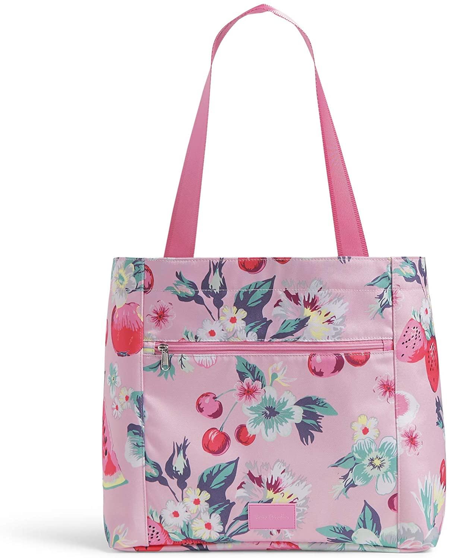 Vera Bradley Recycled Lighten Up Reactive Drawstring Family Tote Bag