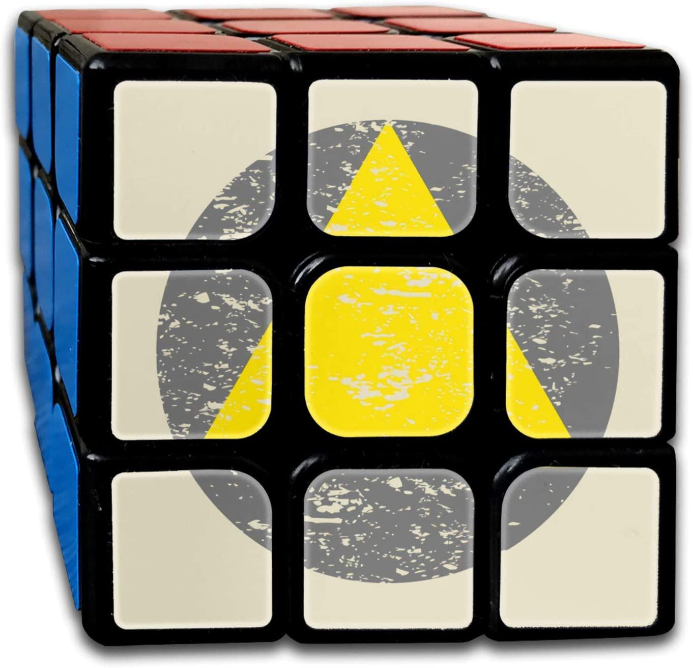 Legion Triangle Distressed Rubiks Cube One Size