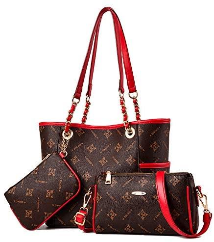 Three Piece Bag Setfashion Simple Shoulder Handbagbig Messenger